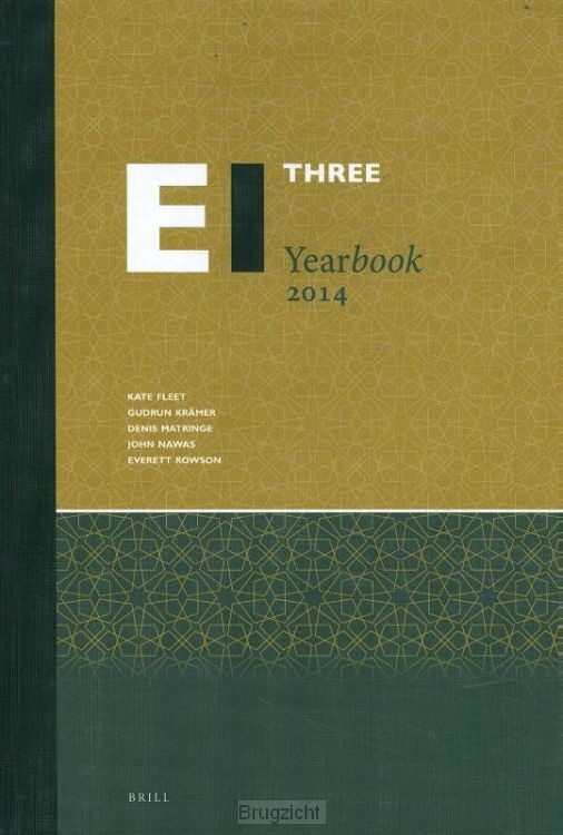 The Encyclopaedia of Islam Three Yearbook 2014