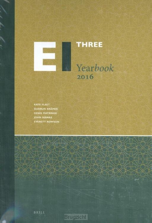 Encyclopaedia of Islam Three Yearbook 2016