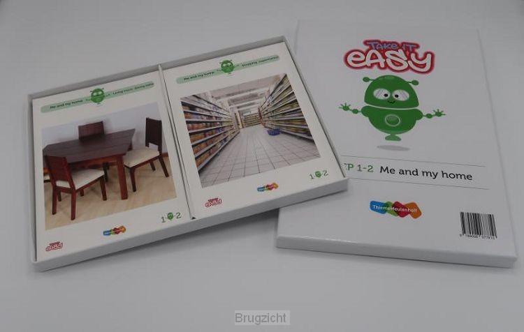 Take it easy Woordkaarten Groep 1-2 - Me and my home