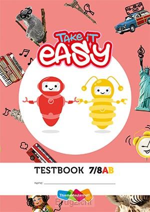 Take it easy Toetsschrift groep 7-8 2e druk (set a 5 ex)