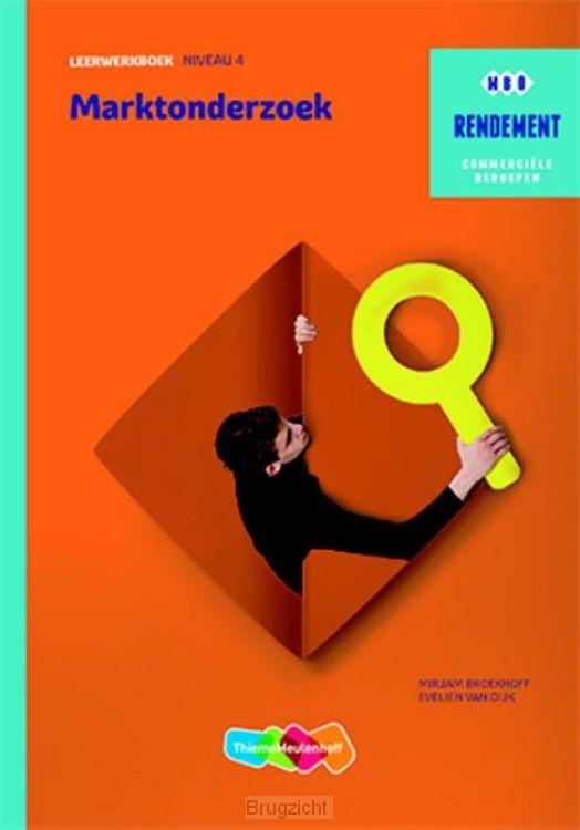 niveau 4 / Marktonderzoek / Leerwerkboek