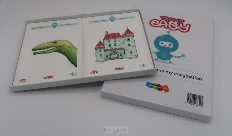 Take it easy Woordkaarten groep 3-4 Me and my imagination