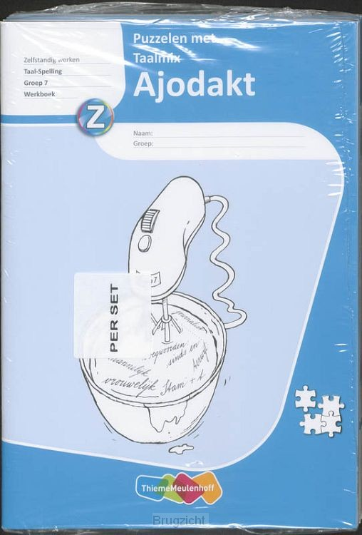 Gr 7 / Ajodakt Puzzelen met Taalmix 5x / Werkboek