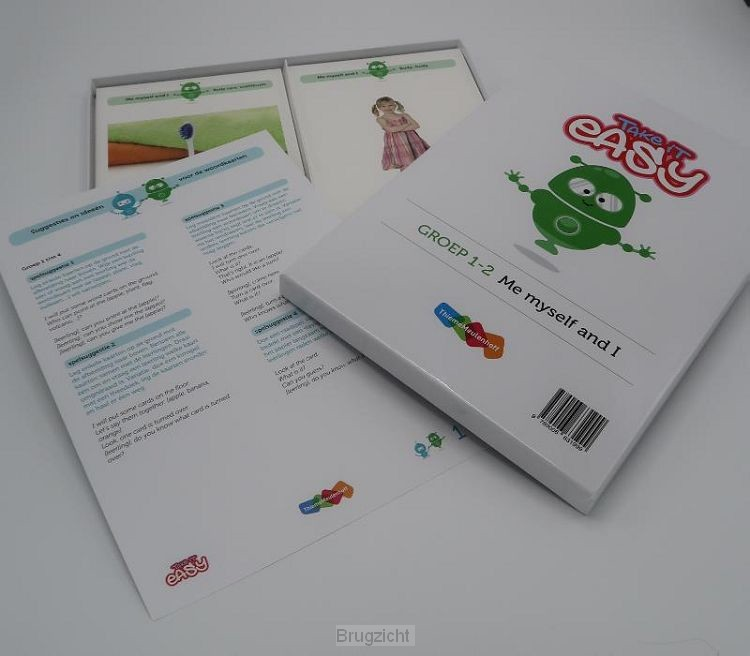 Take it easy Woordkaarten Groep 1-2 - Me, myself and I
