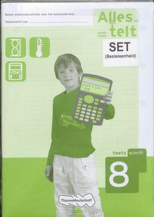 Alles telt 8 toetsboekjes 5x