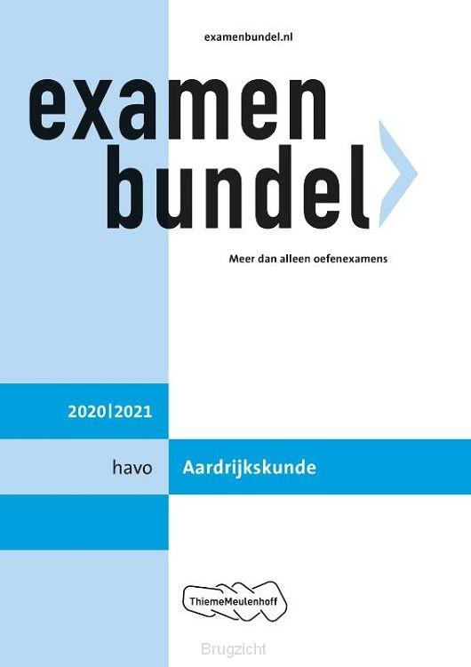 Examenbundel / 2020/2021 havo Aardrijkskunde