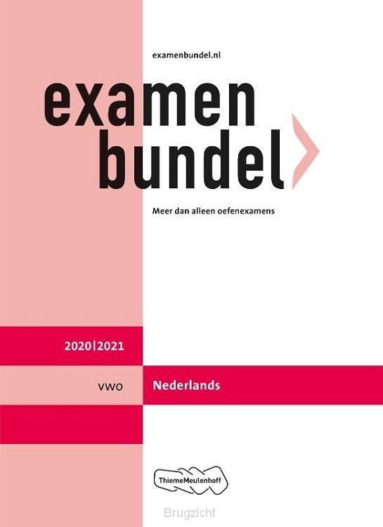 Examenbundel / vwo Nederlands 2020/2021