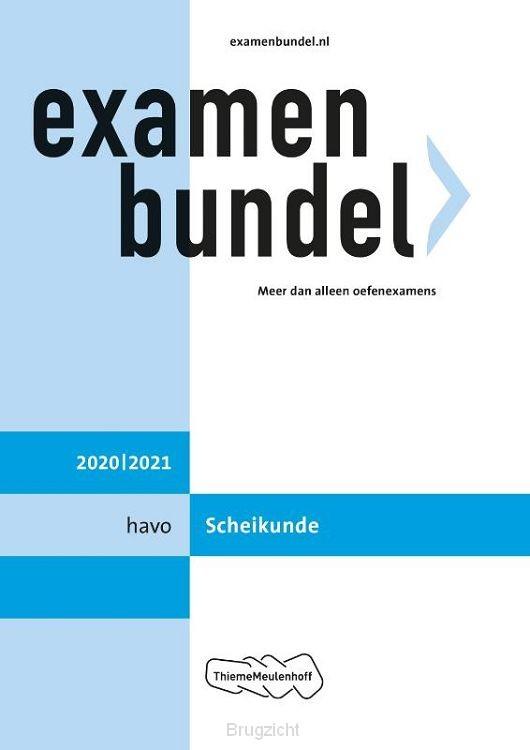 Examenbundel / havo Scheikunde 2020/2021
