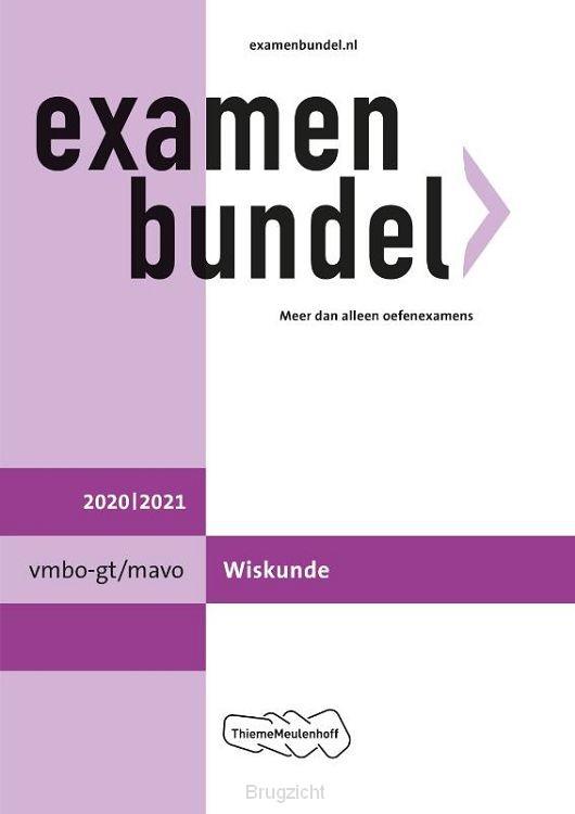 Examenbundel / vmbo-gt/mavo Wiskunde 2020/2021
