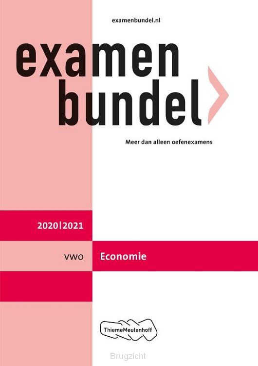 Examenbundel / vwo Economie 2020/2021