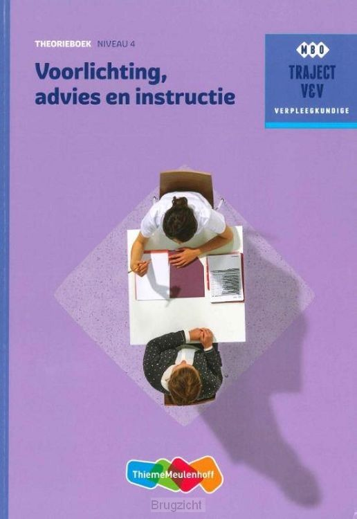 Theorieboek / Voorlichting, advies en instructie / Niveau 4