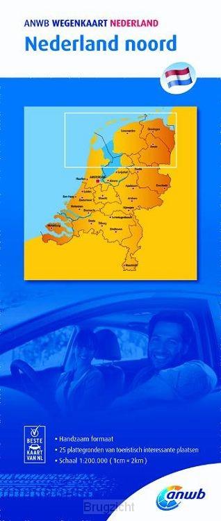 Nederland noord 1:200000