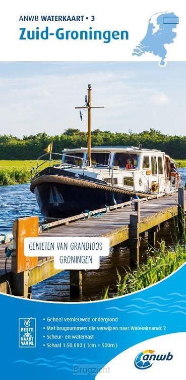 Waterkaart 3. Zuid-Groningen