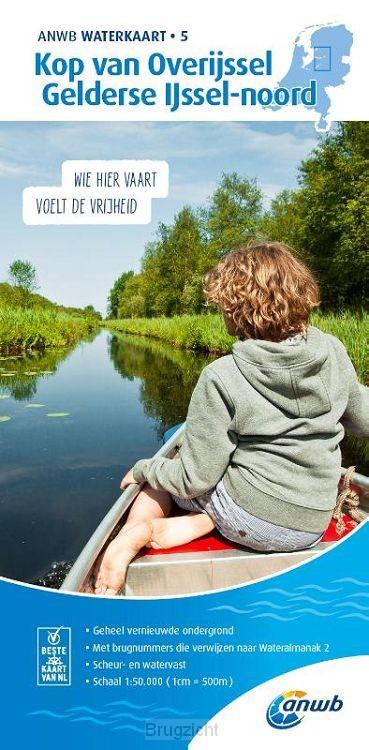 Waterkaart 5. Kop van Overijssel-Gelderse IJssel-noord