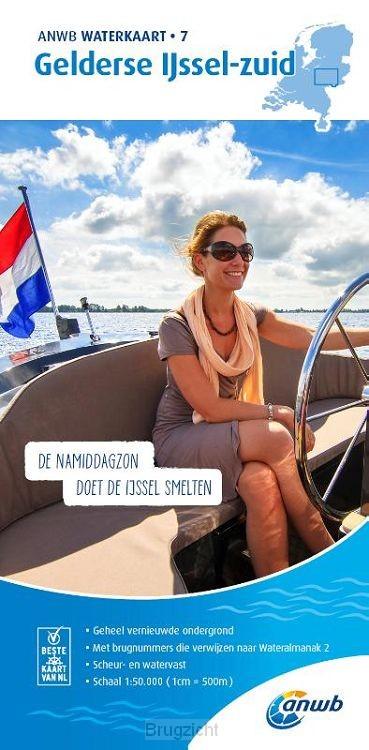 Waterkaart 7. Gelderse IJssel-zuid