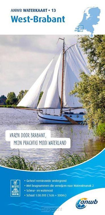 Waterkaart 13. West-Brabant