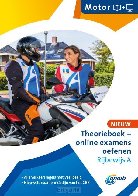 Theorieboek Rijbwijs A + online examens oefenen
