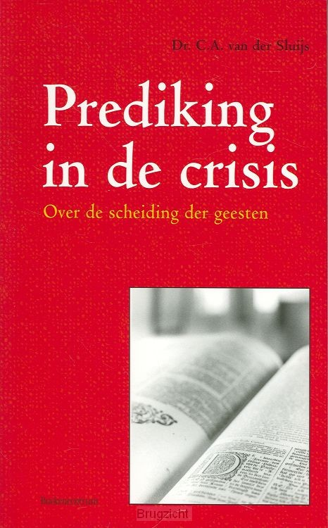 Prediking in de crisis