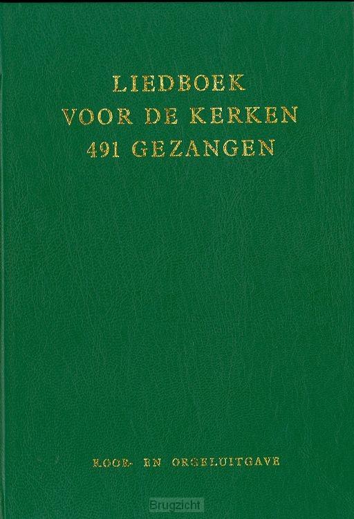 Liedboek 5609 491-gez groen koorbundel