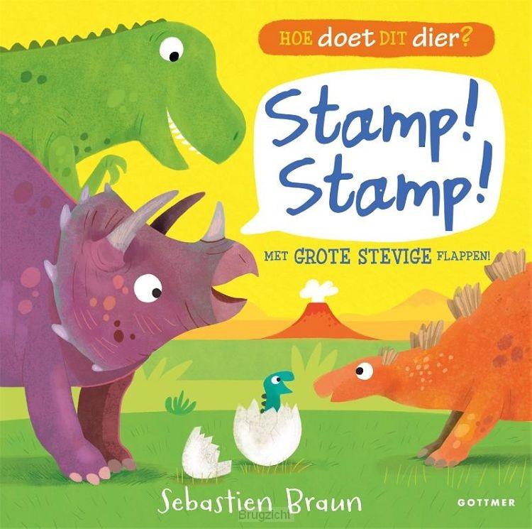 Hoe doet dit dier? Stamp! Stamp!