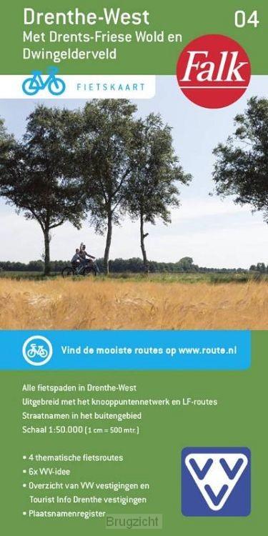 Falk VVV fietskaart 04 Drenthe-West