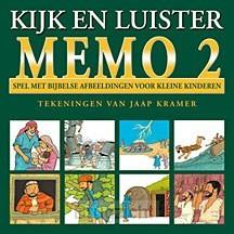 Memo spel Kijk en luister dl.2