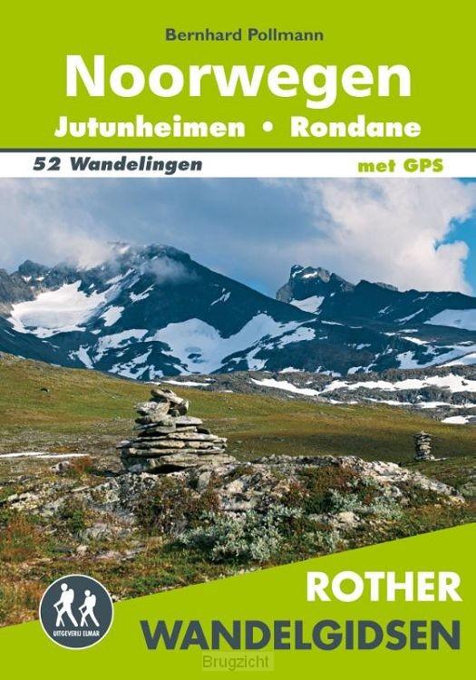 Rother wandelgids Noorwegen - Jotunheimen - Rondane