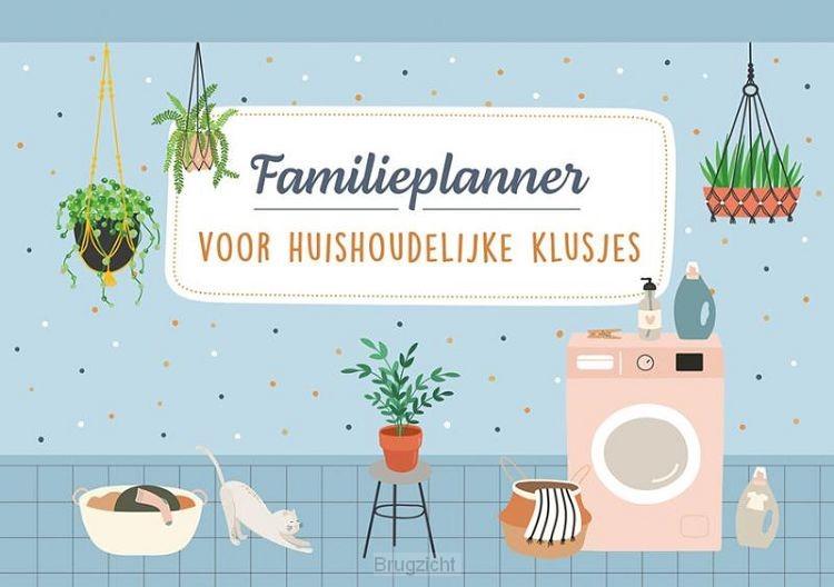 Familieplanner voor huishoudelijke klusjes