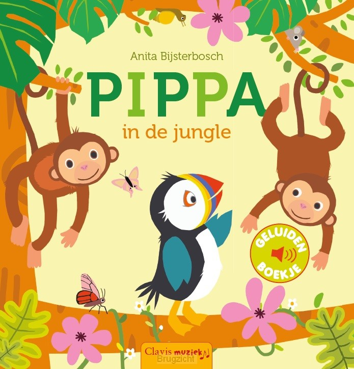 Pippa in de jungle (geluidenboek)