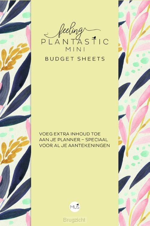 Budget sheets MINI - Feeling Plantastic