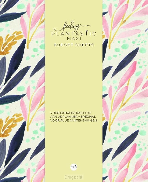 Budget sheets MAXI - Feeling Plantastic