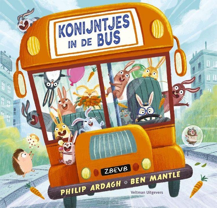 Konijntjes in de bus