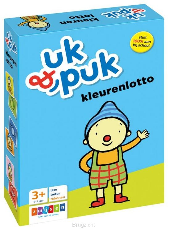 Uk & Puk kleurenlotto
