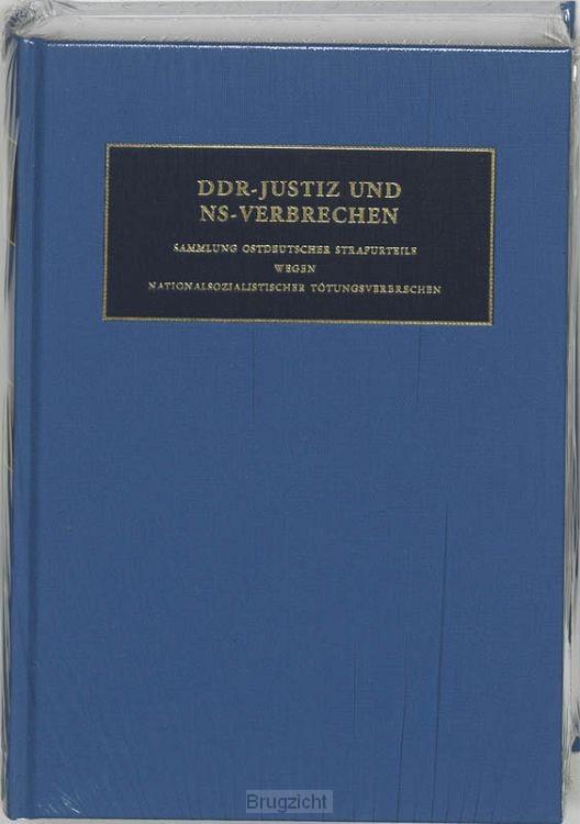 DDR-Justiz und NS-Verbrechen / 10 Die Verfahren Nr 1523-1609 des Jahres 1948