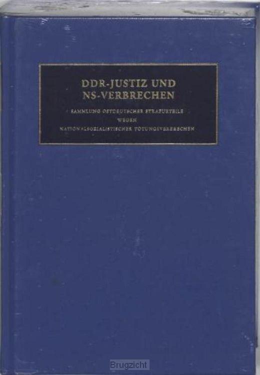 DDR-Justiz und NS-Verbrechen / 7