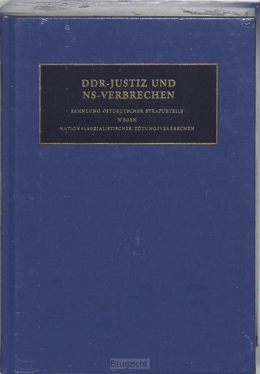 DDR-Justiz un NS-Verbrechen / IX