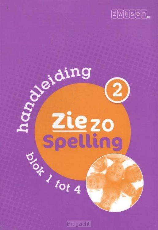 deel 2 blok 1 tot 4 / Ziezo spelling / handleiding