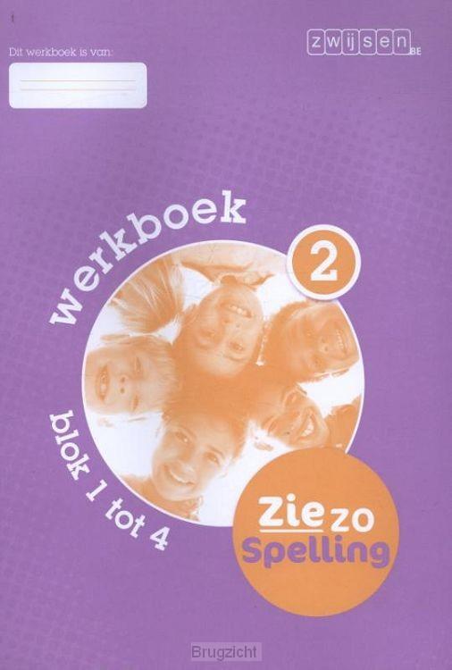 2 blok 1 tot 4 / Ziezo spelling / Werkboek