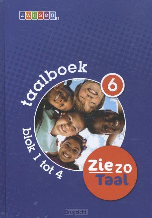 6 - blok 1 tot 4 / Ziezo taal / Taalboek