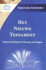 Het Nieuwe Testament sv met strong-code