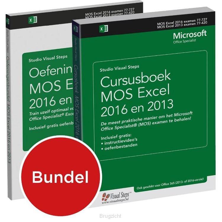Cursusboek MOS Excel 2013 Basis + extra oefeningen