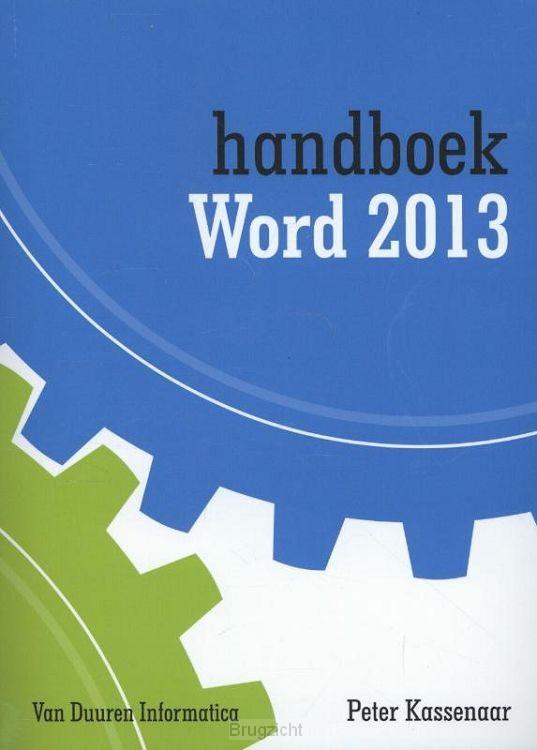 Handboek Word 2013 / 2013