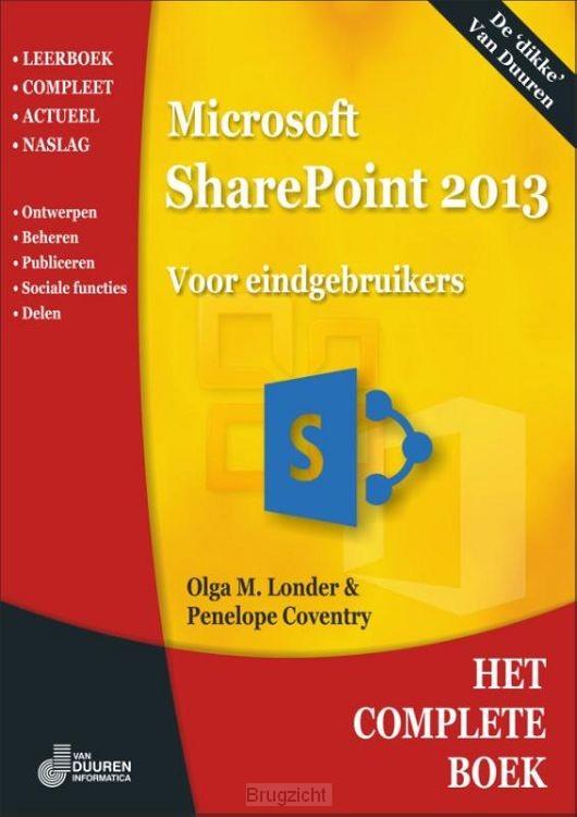 Het complete boek sharepoint 2013 / 2013