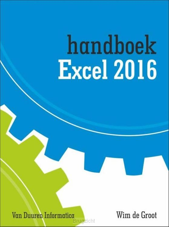 Handboek Excel 2016