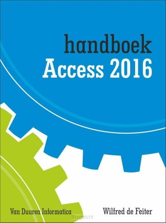 Handboek access / 2016