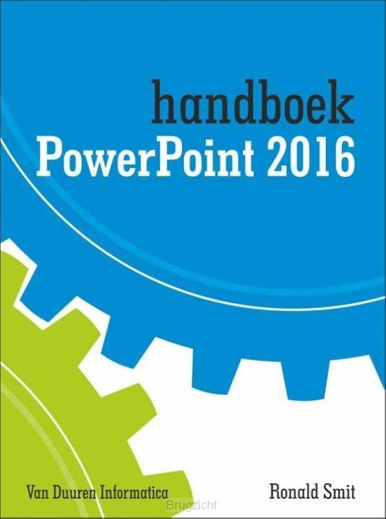 Handboek powerpoint / 2016