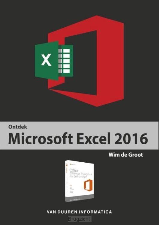 Ontdek Microsoft Excel / 2016