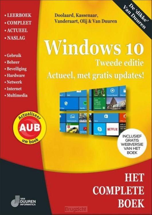 Het Complete boek Windows 10 / 2e editie