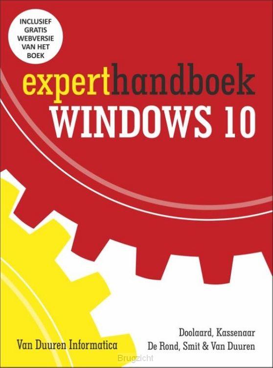 Experthandboek Windows 10