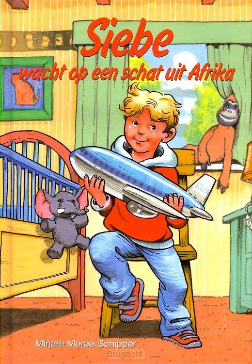 Siebe wacht op een schat uit afrika